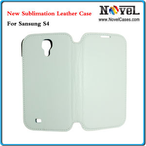 Latest Sublimation PU Leather Phone Case for Samsung S4