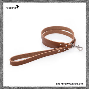 4 FT Basic Cow Leather Dog Leash Spl7001 pictures & photos