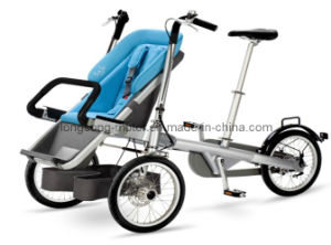 Foldable Shopping Tricycle Carriage Baby Trolley