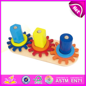 2014 New Wooden Kids Gear Toy, Popualr Cute Mini Wooden Kids Gear Toy, Hot Sale Lovely Wooden Kids Gear Toy W13e040 pictures & photos