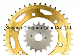 Front&Rear Wheel Motorcycle Sprocket Fit 1999-07 for Suzuki Gsxr1300/1997-03 Tl1000 pictures & photos