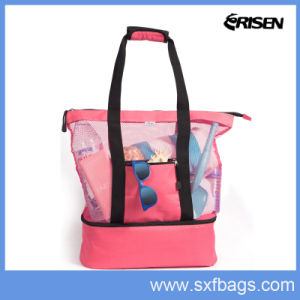 Promotional New Design Tote Cooler Picnic Lunch Bag pictures & photos