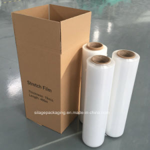 Transparent LLDPE Stretch Film for Hand Use pictures & photos