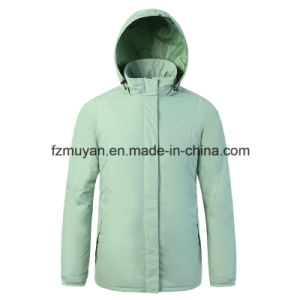 Thickened Hood Waterproof Jacket pictures & photos