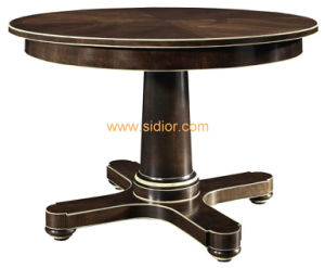 (CL-3323) Antique Hotel Restaurant Dining Furniture Wooden Dining Table pictures & photos