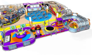Cheer Amusement Children Space Themed Indoor Playground Equipment pictures & photos