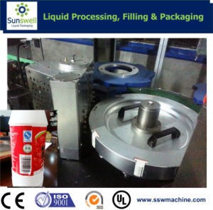 Rotary Type Hot Glue Labeling Machine/OPP Labeling Machine pictures & photos