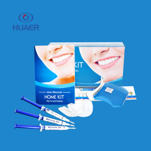 CE Aproved Non Peroxide Teeth Whitening Kit with LED Light pictures & photos