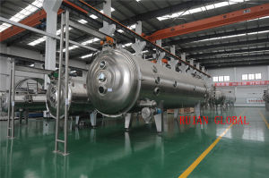 Belt Vacuum Continuous Dryer for Coffee Powder pictures & photos