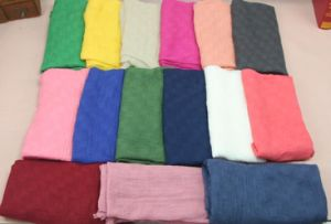 Sheer Cotton Voile Plain Scarf pictures & photos