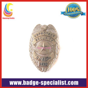 Custom Military Badge with Strong Pin on Back (HS-MB006)