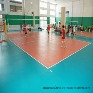 China Professional Sports Volleybal PVC Flooring pictures & photos