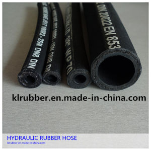 High Quality Smooth Surface Hydraulic Rubber Hose pictures & photos