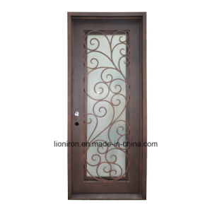 Custom Square Interior Hand Forge Door with Steel pictures & photos
