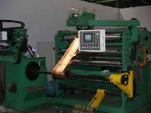 Foil Type Winding Machine for Transformer Coil