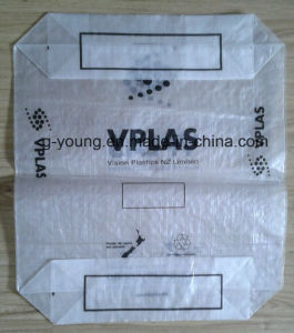 50kg PP Cement Valve Plastic Bag pictures & photos