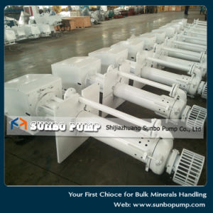 China Mineral Processing Vertical Slurry Pump Sv Series pictures & photos