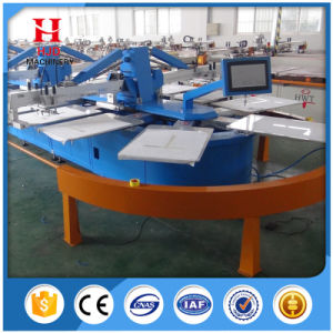 Newest Automatic Oval Textile Screen Printing Machine for Hot Machine pictures & photos