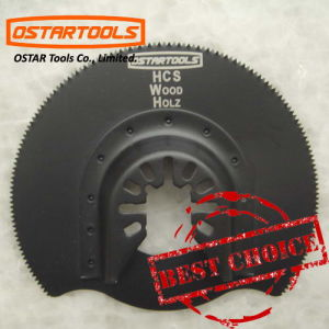 Oscillating Hcs Segment Saw Blade for Multifunctional Tool pictures & photos