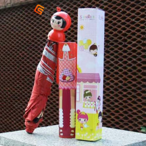 Speicla Cartoon Handle Umbrella in Bottle (YS-3FB004A) pictures & photos