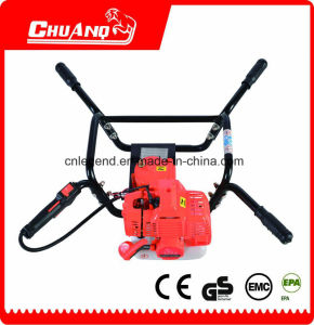 Single Cylinder Hand Operate Earth Auger Machine pictures & photos