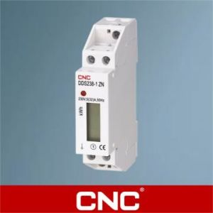 Dds226D-1p M Single Phase DIN-Rail Electronic Energy Meter (One Module with RS485) pictures & photos