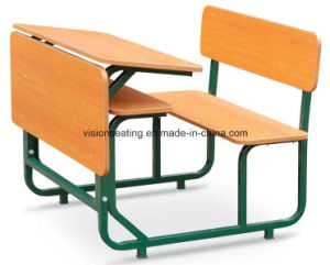 Classroom School Student Chair and Table (7401) pictures & photos