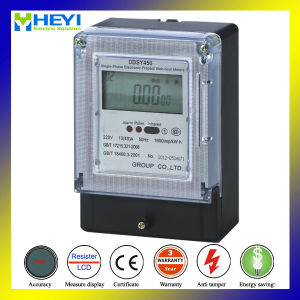 Single Phase Prepaid Electricity Meter with Card Reader pictures & photos