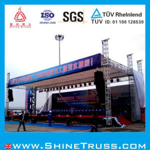 Aluminum Stage Roof Truss with Stage Platform pictures & photos