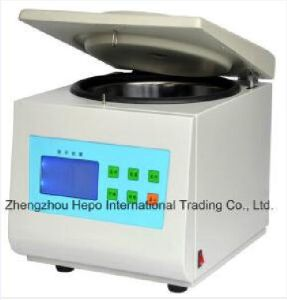 Medical Bench Top High Speed Refrigeration Centrifuge (HP-CF16LM) pictures & photos