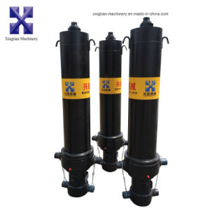 Telescopic Hydraulic Oil Cylinder with Ts16949 pictures & photos