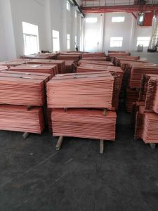 Gr1 Titanium Cathode Plate for Copper Foil Production / Electrowinning pictures & photos