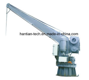 Signal Arm Hydraulic Slewing Boat and Raft Crane (HT25) pictures & photos
