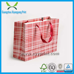 Wholesale Promotional Cheap Machine Making Gift Paper Bag pictures & photos