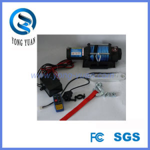 China Supplier High Quality Synthetic Rope Winch for ATV (DH4500D-S)