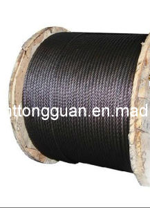 Steel Wire Rope for Elevator (6*19S & 8*19S) pictures & photos
