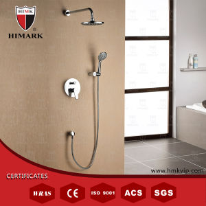 Easy Installation and Durable Bath Showers with Circle Rainfall Shower