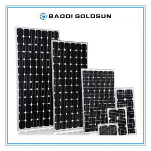 High Efficiency 90W Poly Solar Panel with ISO9001 ISO14001 for Colombia pictures & photos