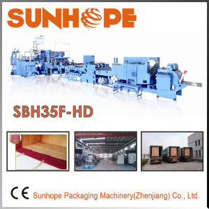Sbh35f-HD Full Servo Sheet Feed Handle Bag Shopping Bag Making Machine pictures & photos