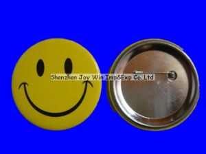 Promotional Tin Button, Badge Button, Lapel Pin