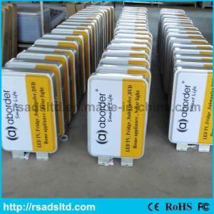 Ce Quality Sucking Plastic LED Light Box Signage pictures & photos