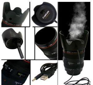 Simulation Camera Lens Humidifier