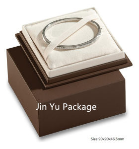 Luxury Handmade Chocolate Square Gift Jewelry Paper Box pictures & photos
