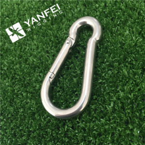 4X40mm Zinc Plated Snap Hook with Eyelet pictures & photos