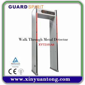 New Walk Through Metal Detector Gate Xyt2101A6 pictures & photos