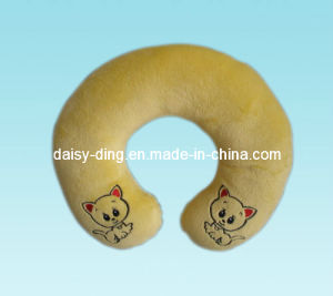 Plush Neck Pillow with Soft Material & Good Embroidery pictures & photos