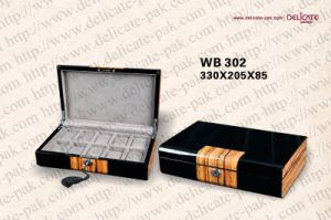 Wooden Watch Box (WB-302)
