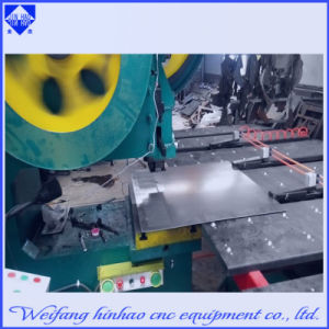 Screen Mesh Mechanical CNC Punching Press Machine with Feeding Platform
