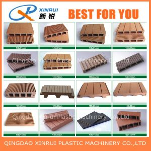PE Wood Plastic Composite Making Machinery pictures & photos