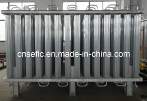Lox/Lin/Lar Low Pressure Ambient Air Vaporizer for Pipeline pictures & photos